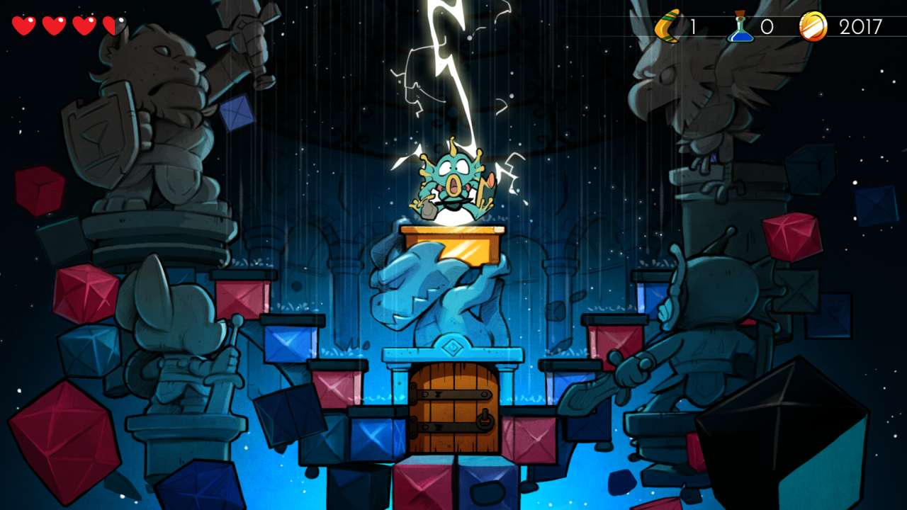 Screenshot from Wonder Boy: The Dragon's Trap (2/10)
