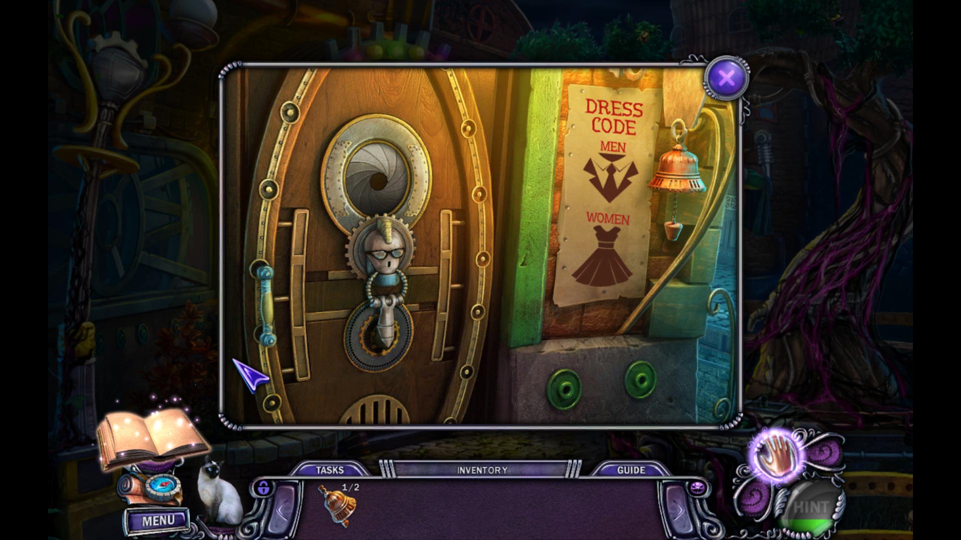 Screenshot from House of 1000 Doors: Evil Inside (1/9)