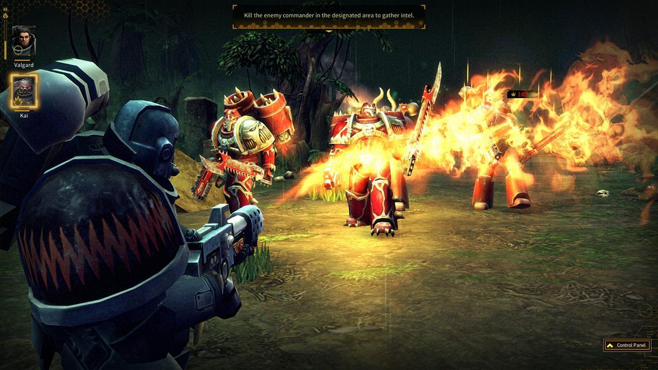 Screenshot from Warhammer 40,000: Space Wolf (1/5)