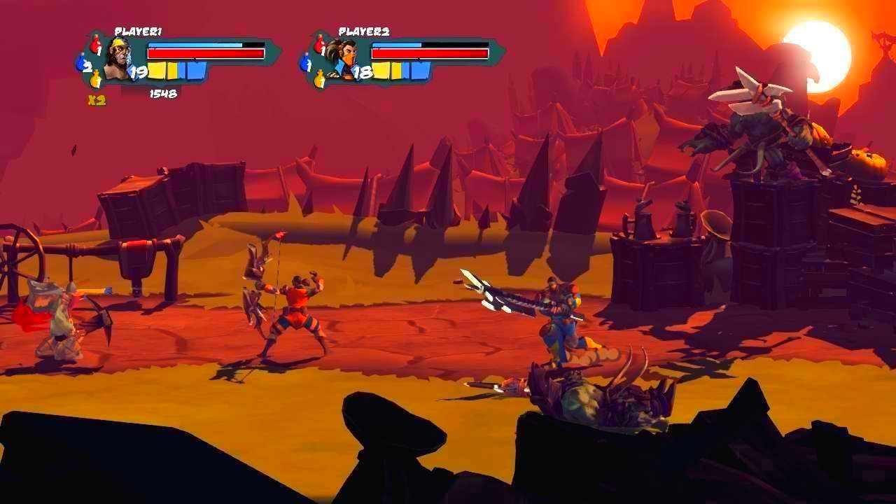 Screenshot from Sacred Citadel (2/9)