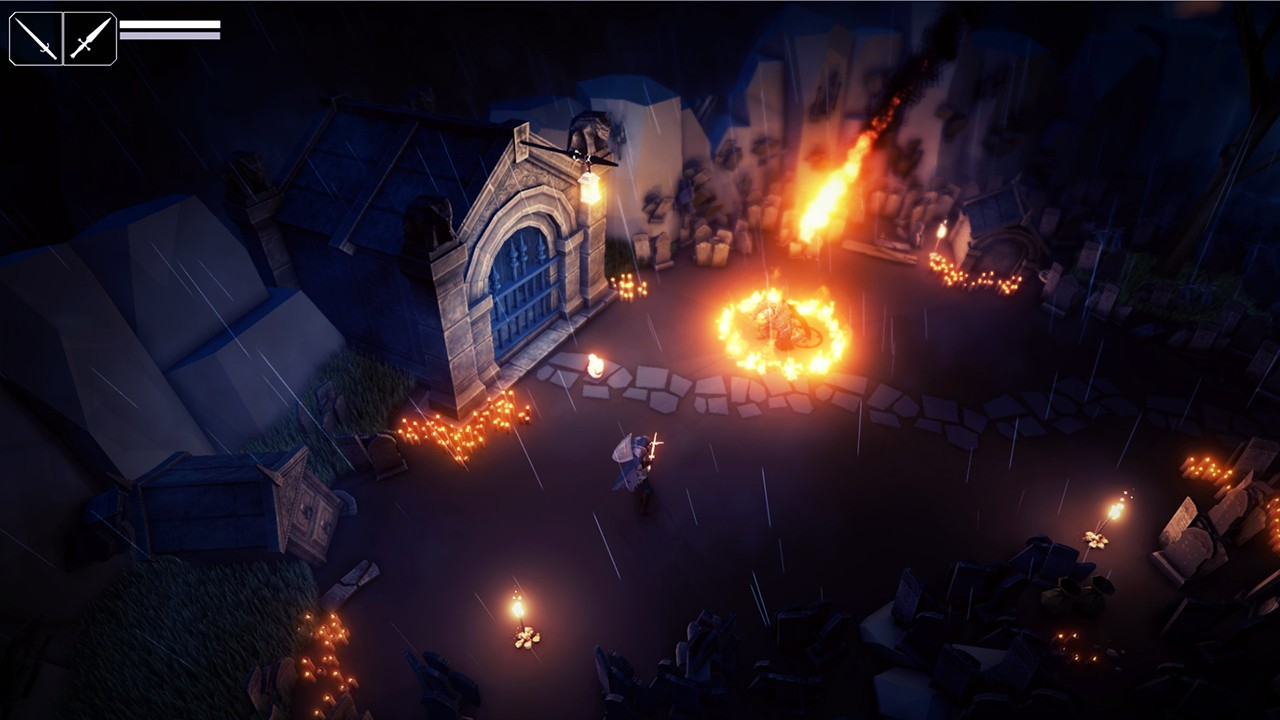 Screenshot from Fall of Light (2/7)