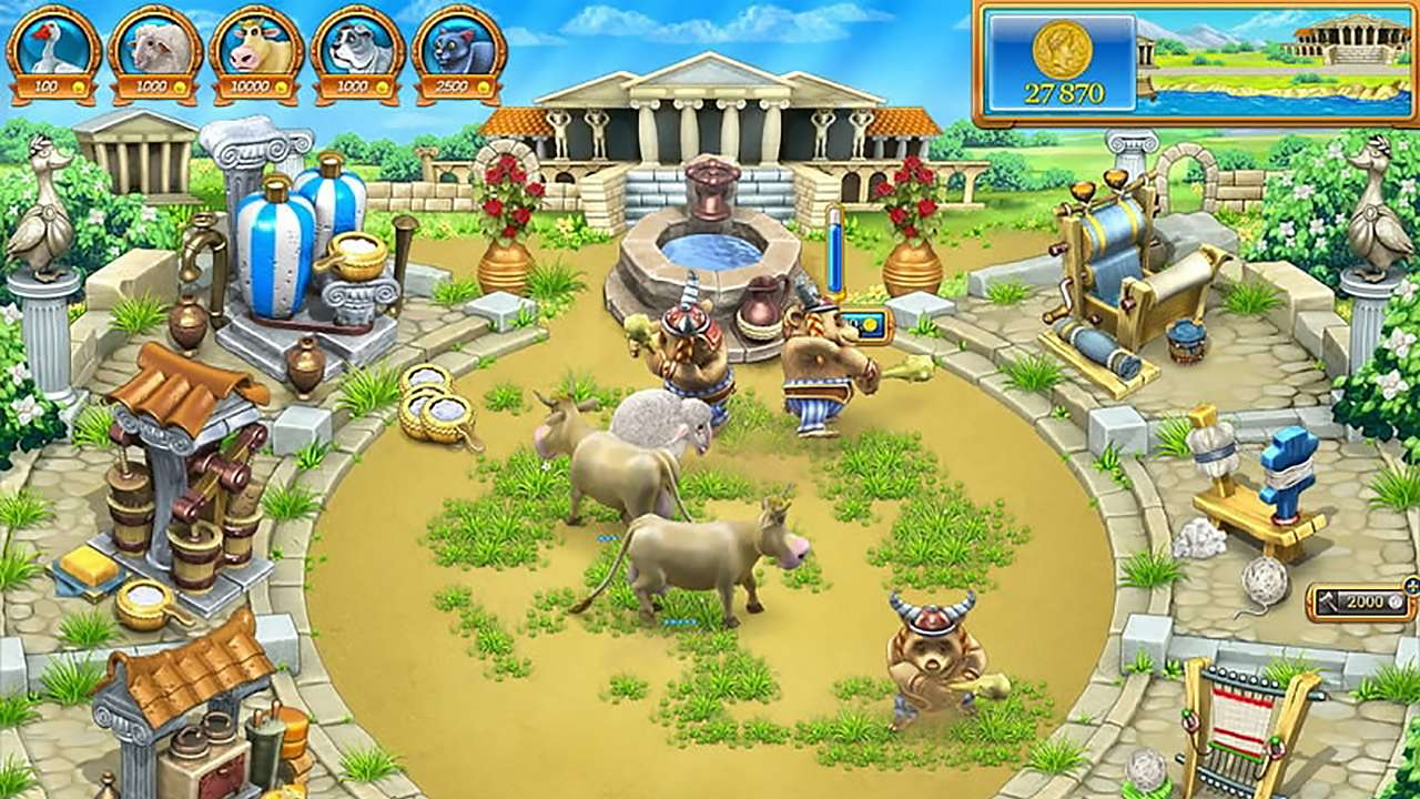 Screenshot from Farm Frenzy: Ancient Rome (7/7)