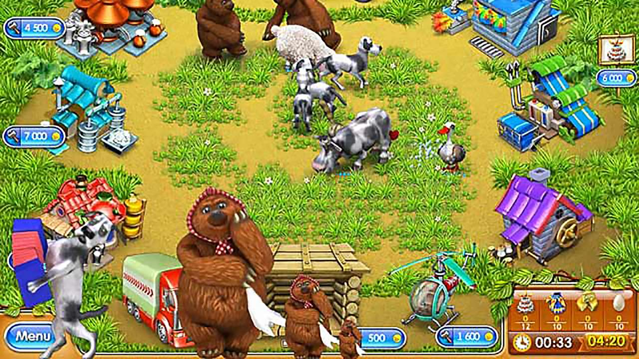 Screenshot from Farm Frenzy 3: Russian Roulette (2/5)