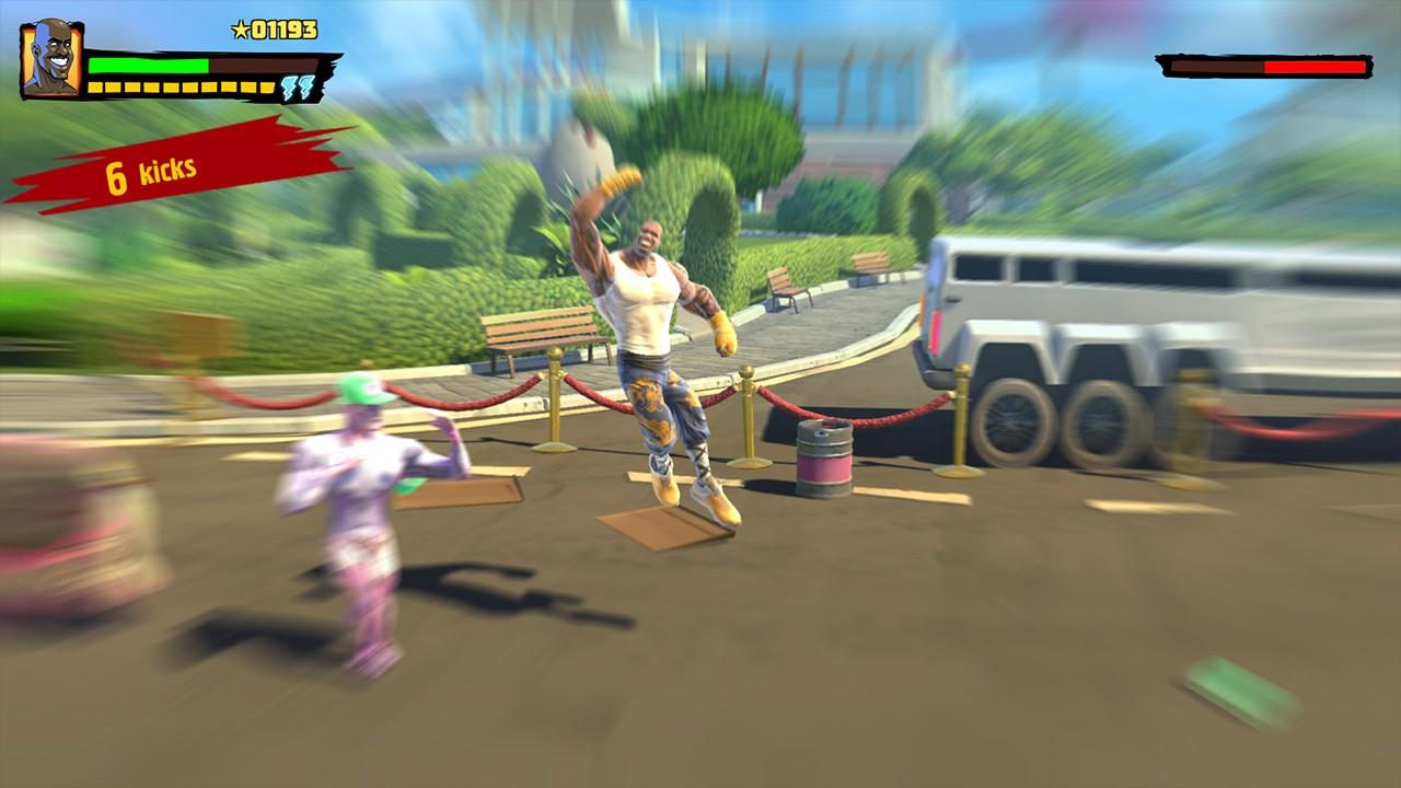 Screenshot from Shaq Fu: A Legend Reborn (4/7)