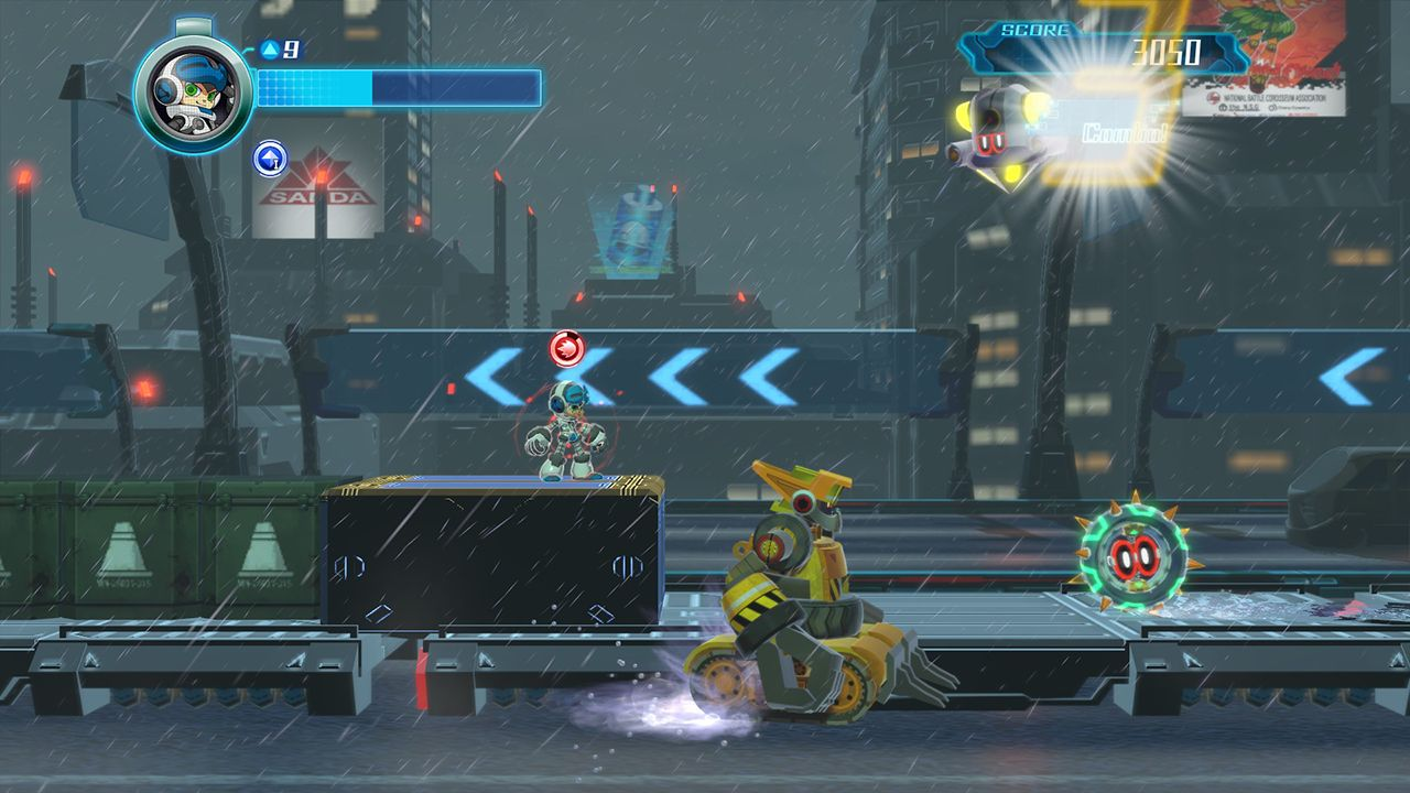 Screenshot from Mighty No. 9 (9/10)