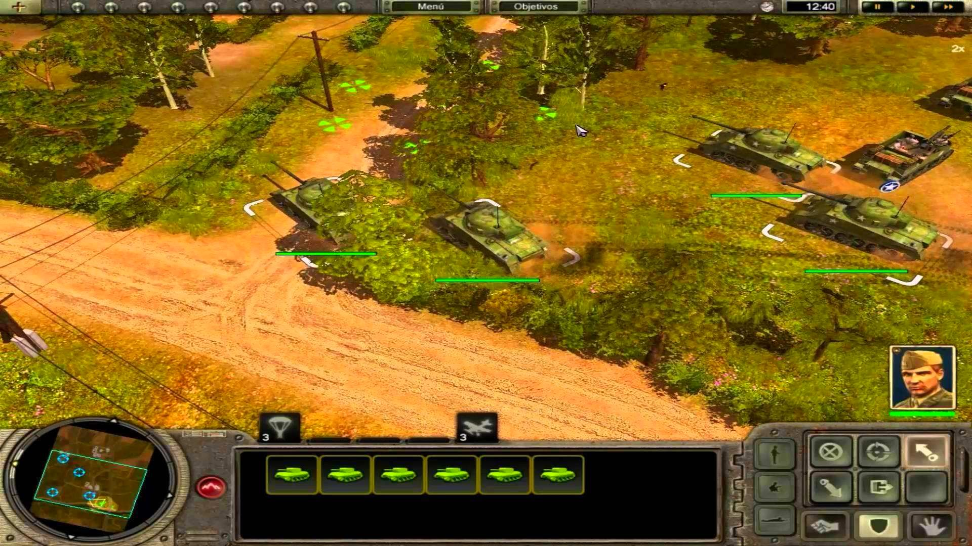 Screenshot from Codename: Panzers, Phase One (7/9)
