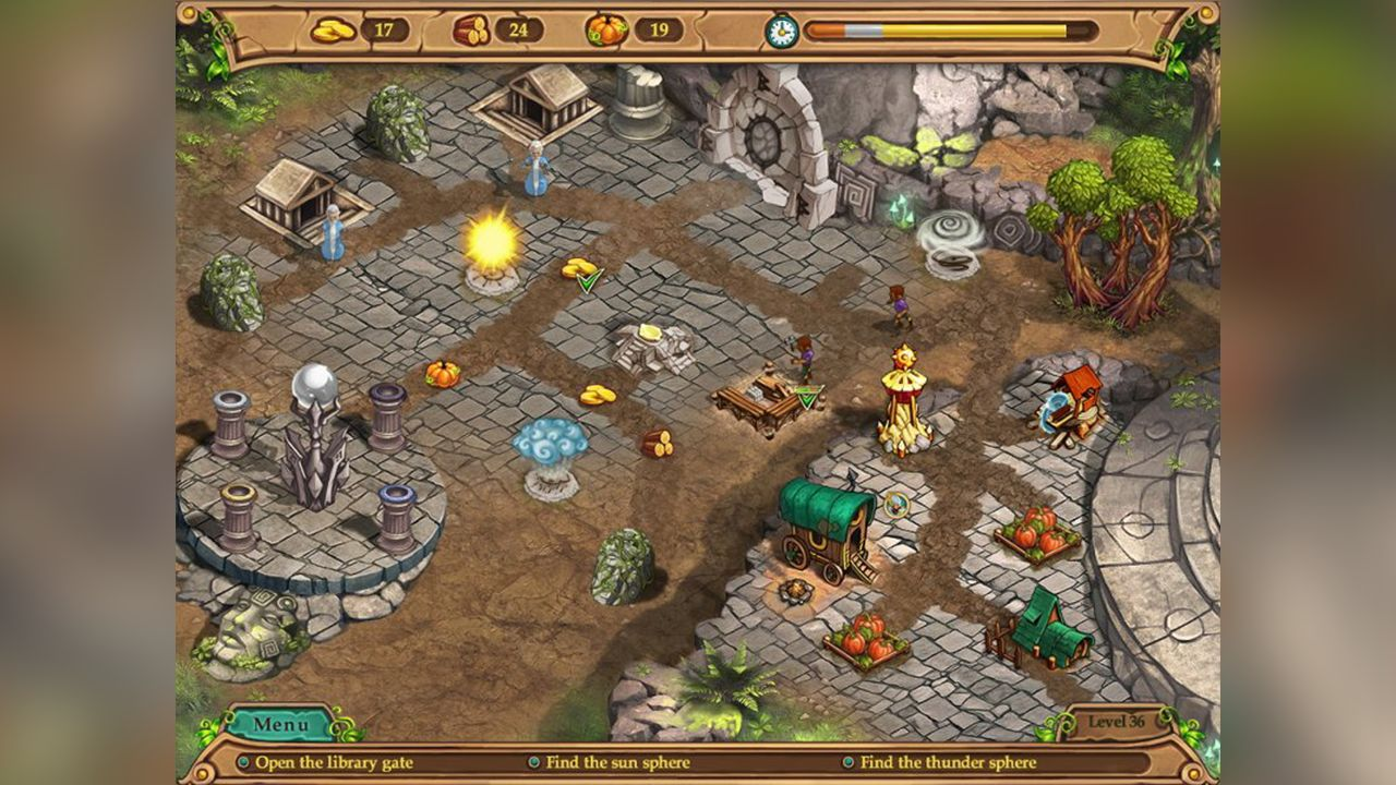 Screenshot from Weather Lord: In Pursuit of the Shaman (2/8)