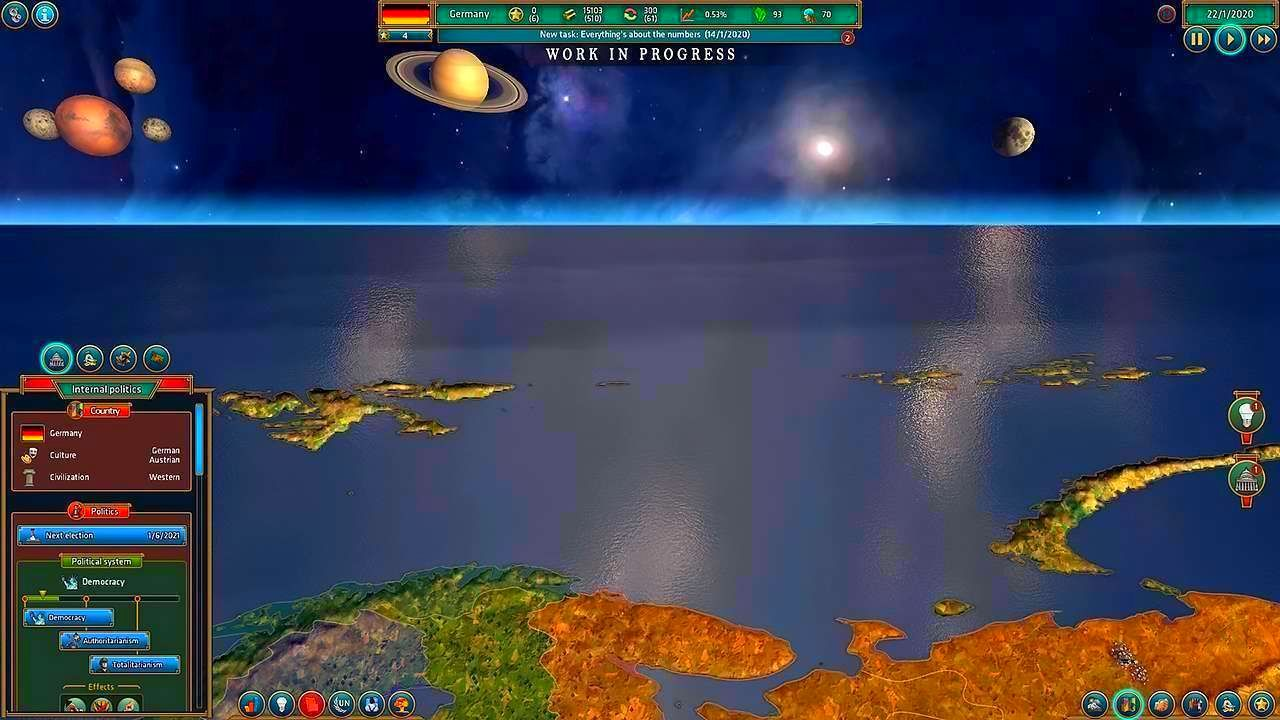 Screenshot from Realpolitiks (5/8)
