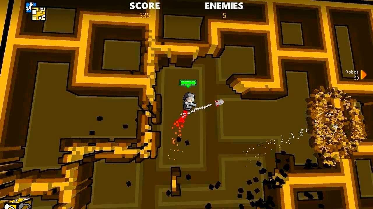 Screenshot from Rocket Riot (6/8)