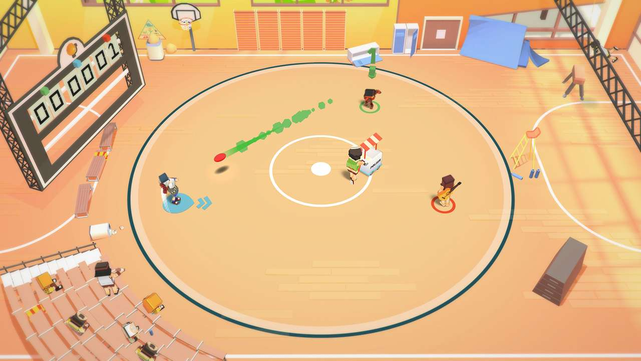 Screenshot from Stikbold! A Dodgeball Adventure (5/9)