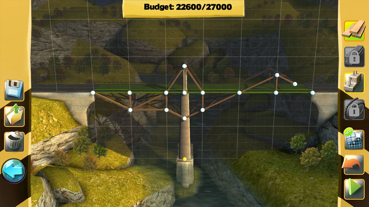 Screenshot from Bridge Constructor (1/7)