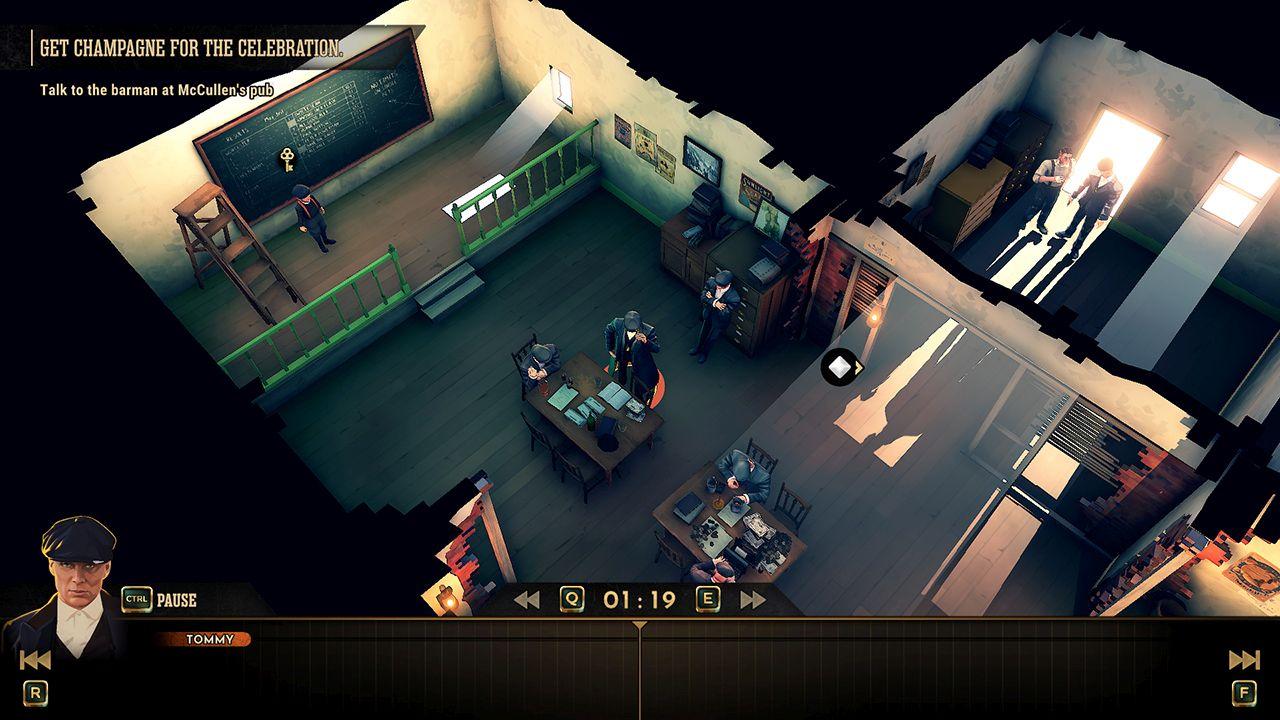 Screenshot from Peaky Blinders: Mastermind (5/7)