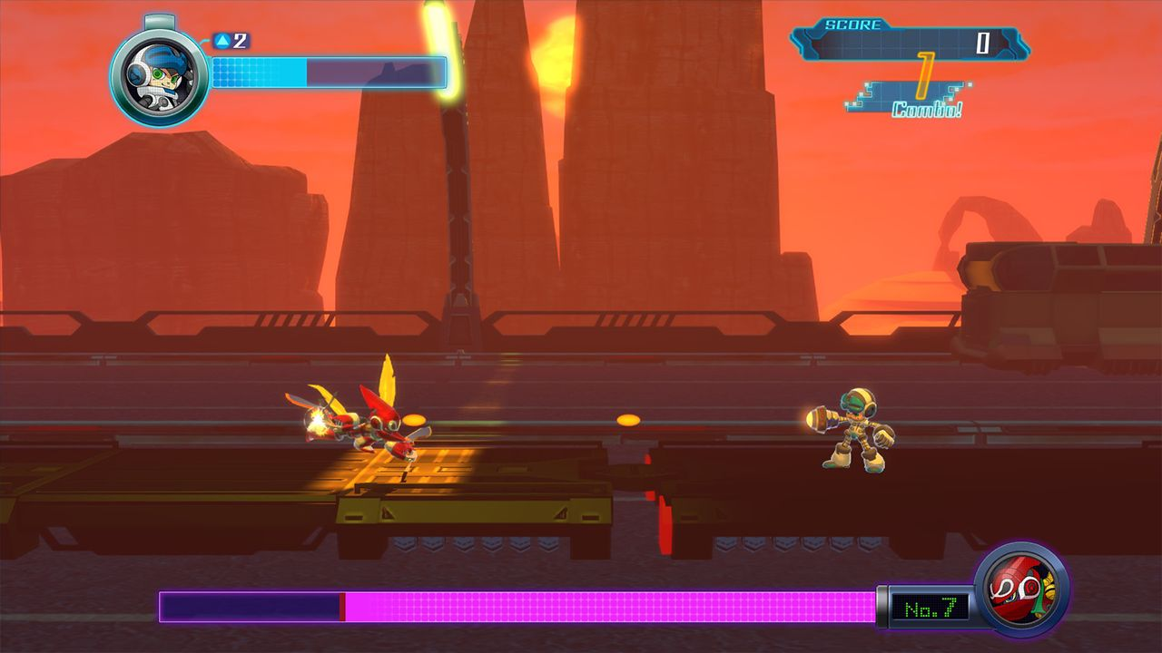 Screenshot from Mighty No. 9 (3/10)