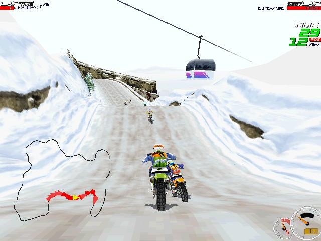 Screenshot from Moto Racer (3/8)