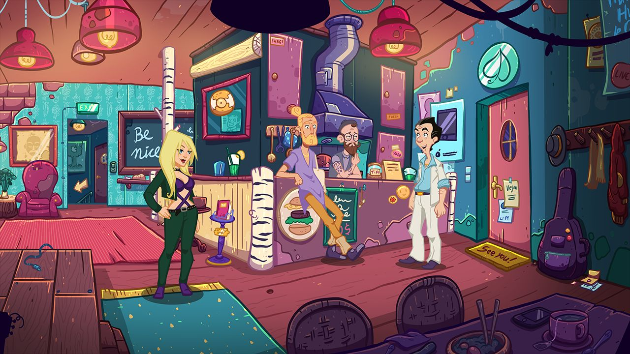 Screenshot from Leisure Suit Larry - Wet Dreams Don't Dry (4/10)