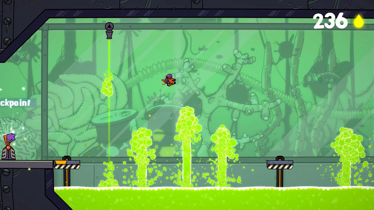 Screenshot from Splasher (4/6)
