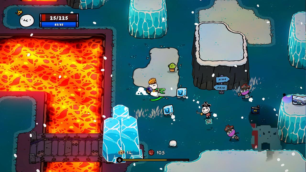 Screenshot from Super Cane Magic ZERO (8/8)