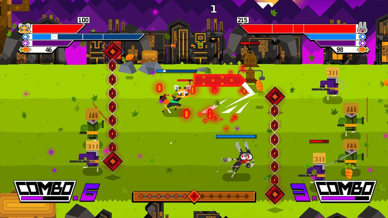 Screenshot from Ninjin: Clash of Carrots (8/9)