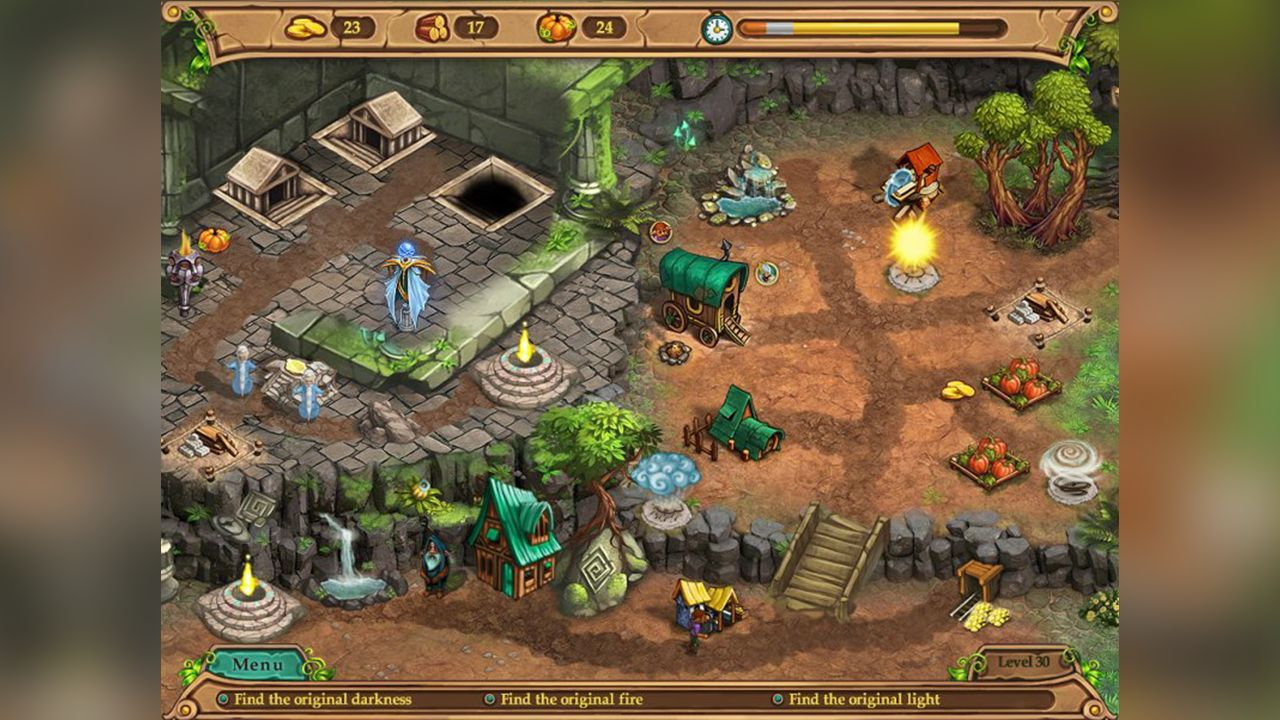 Screenshot from Weather Lord: In Pursuit of the Shaman (6/8)