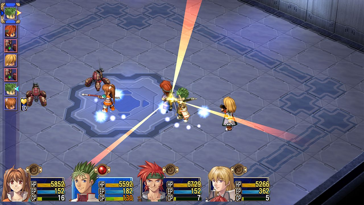 Screenshot from The Legend of Heroes: Trails in the Sky SC (5/8)