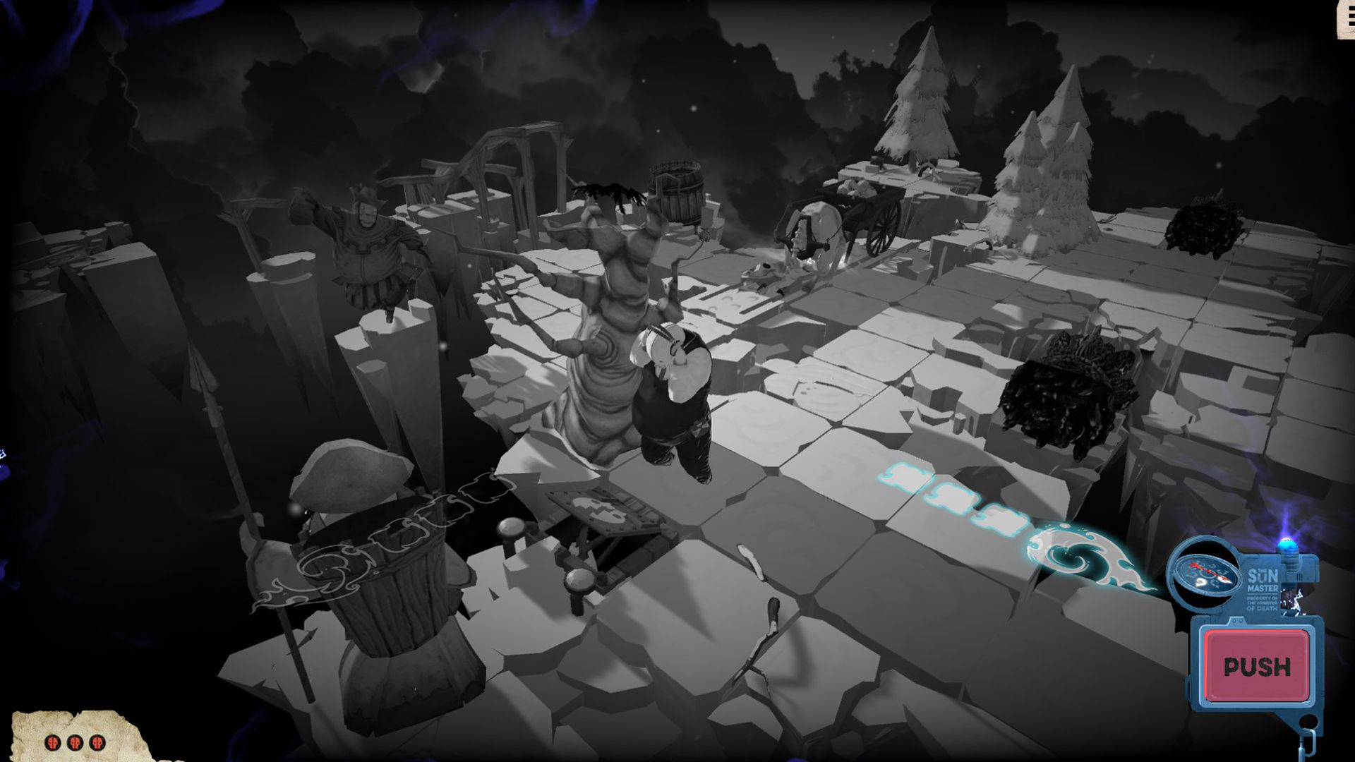 Screenshot from Felix the Reaper (3/10)