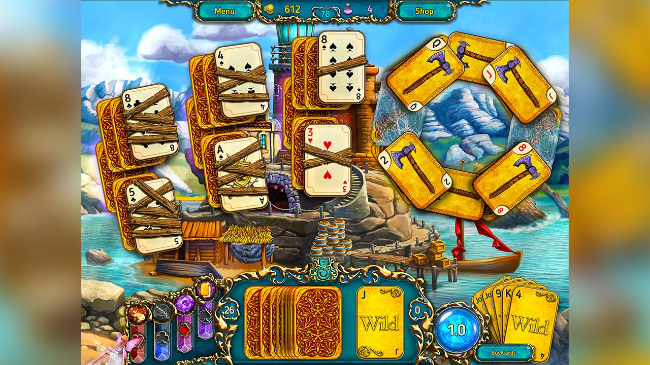 Screenshot from Dreamland Solitaire (4/8)