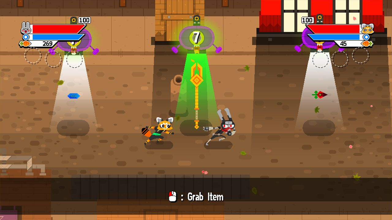 Screenshot from Ninjin: Clash of Carrots (5/9)