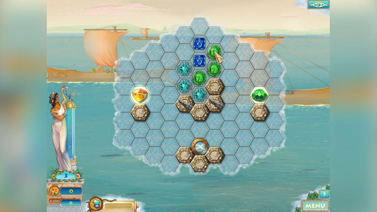 Screenshot from Heroes of Hellas 2: Olympia (2/8)