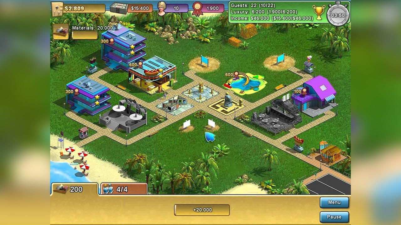 Screenshot from Summer Resort Mogul (1/5)