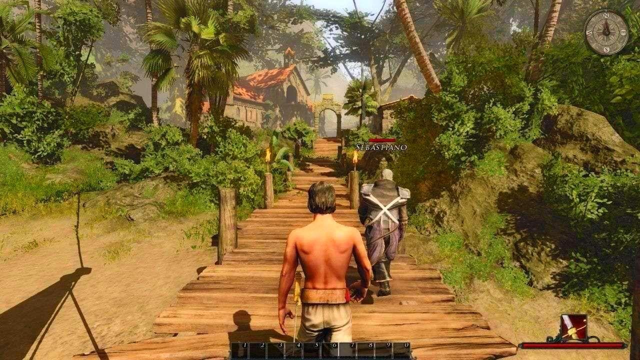 Screenshot from Risen 2: Dark Waters (9/10)