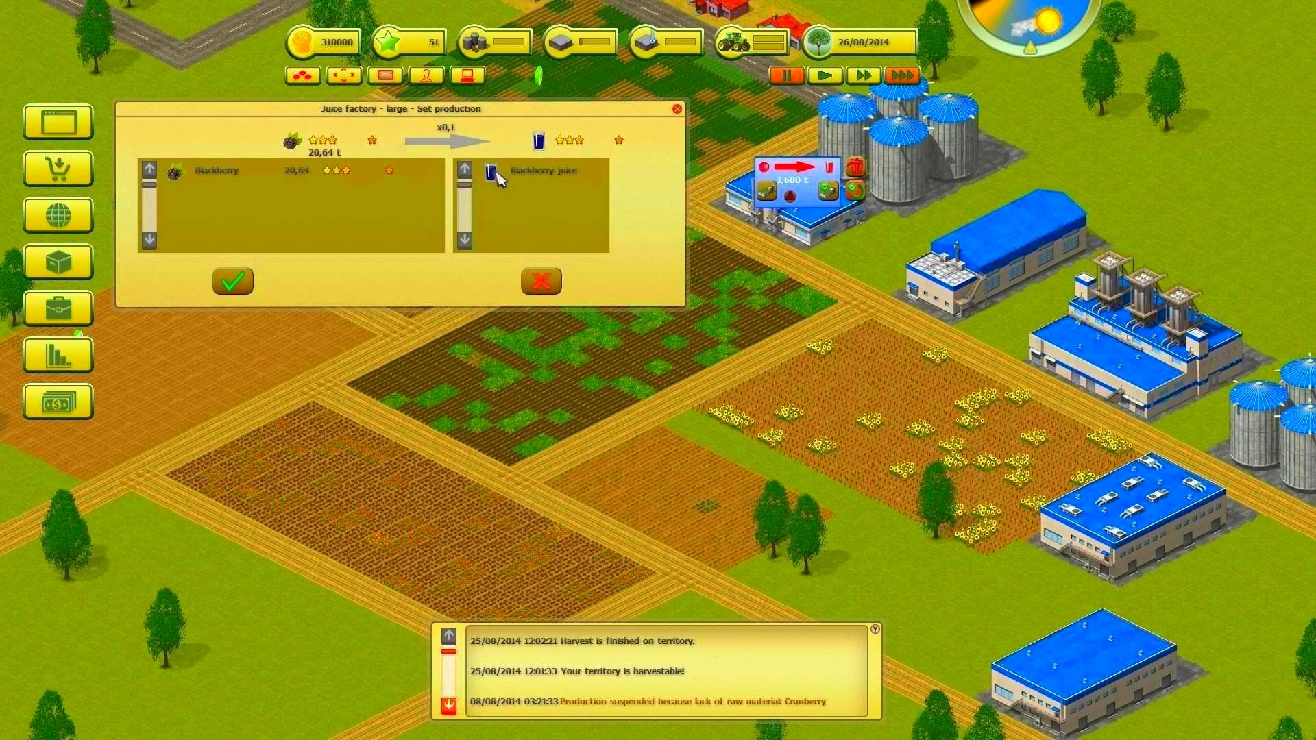 Screenshot from Farming World (1/6)