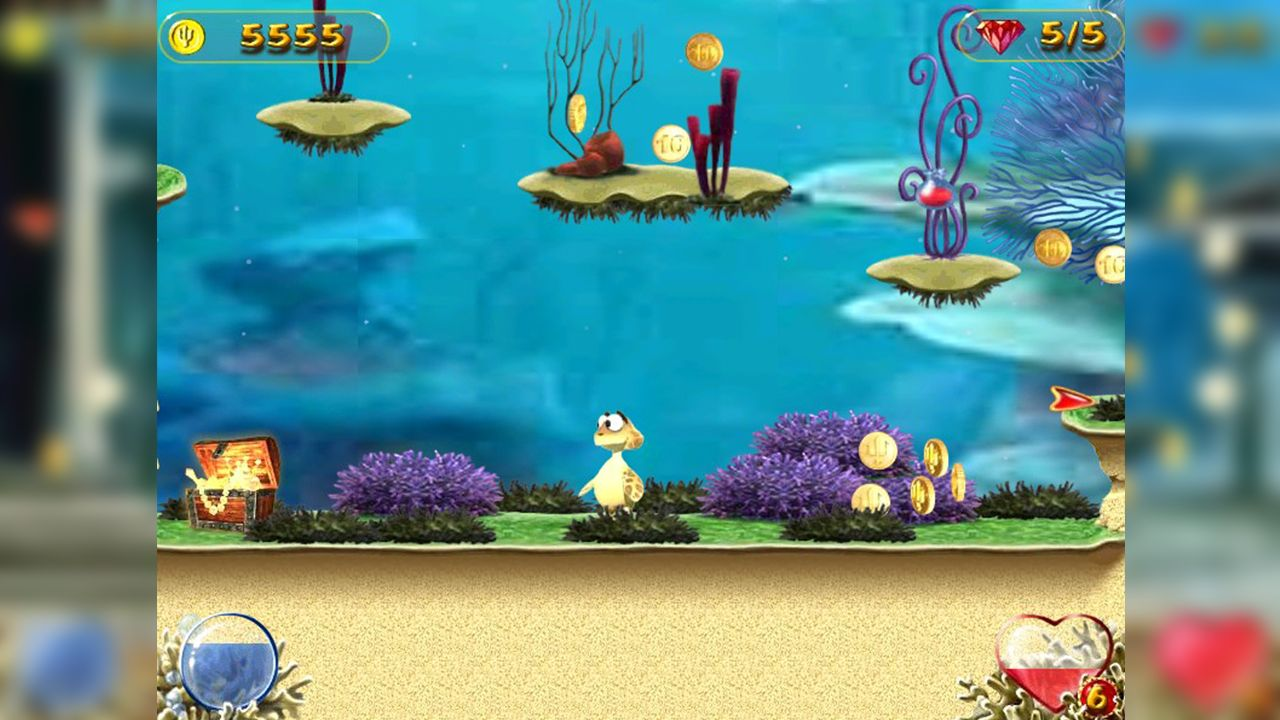 Screenshot from Turtle Odyssey (4/4)