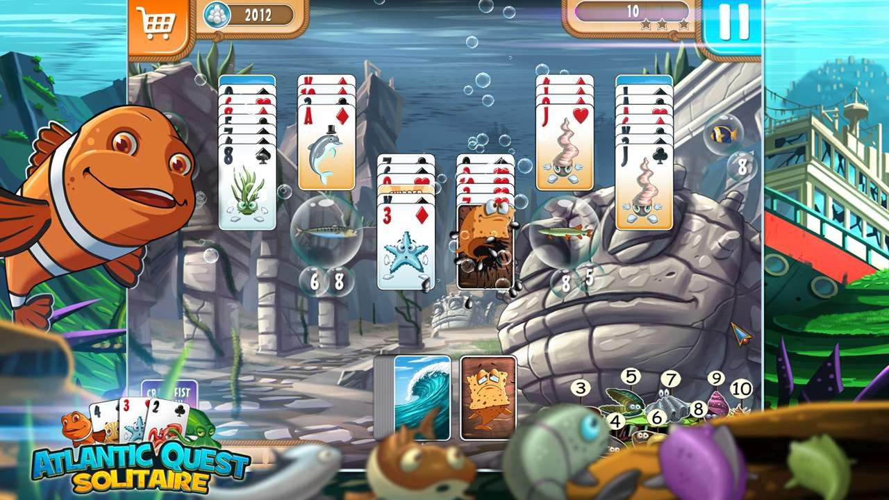 Screenshot from Atlantic Quest Solitaire (4/7)