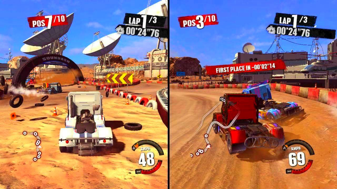 Screenshot from Truck Racer (10/10)