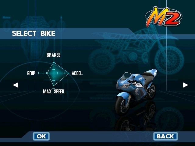 Screenshot from Moto Racer 2 (6/6)