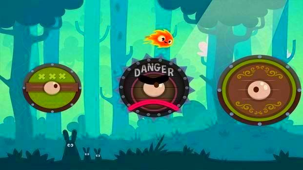 Screenshot from Pyro Jump (3/4)