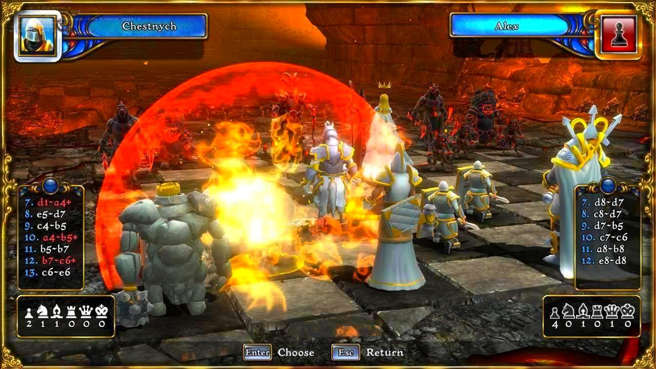 Screenshot from Battle vs. Chess (3/3)