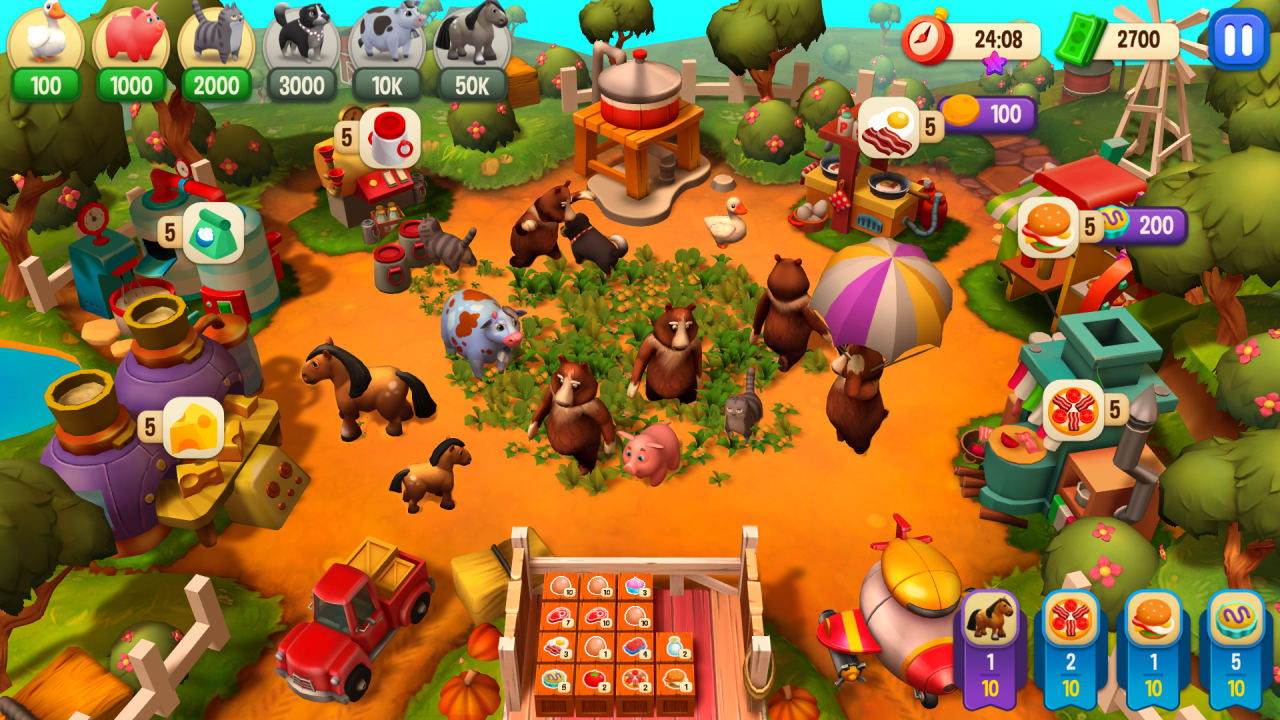 Screenshot from Farm Frenzy: Refreshed Collector's Edition (1/5)