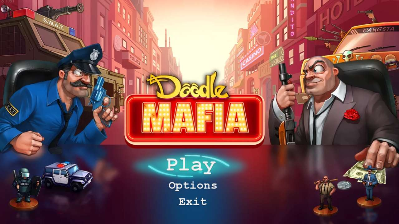 Screenshot from Doodle Mafia (2/6)