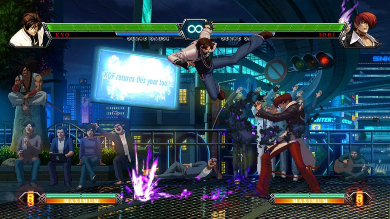 Screenshot from The King of Fighters XIII (1/10)
