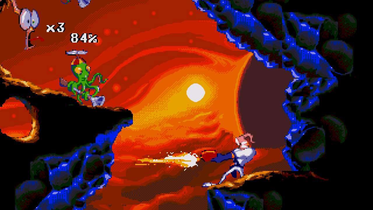 Screenshot from Earthworm Jim 2 (2/6)