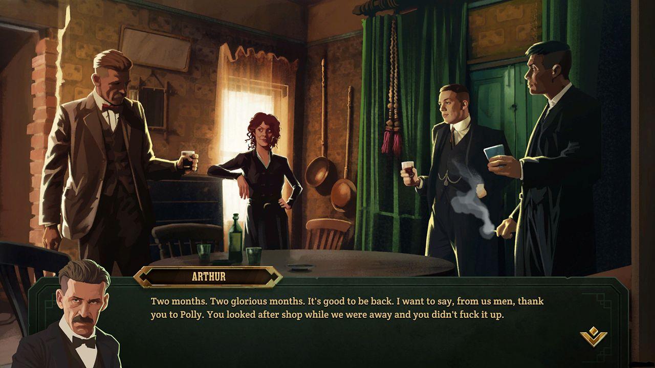 Screenshot from Peaky Blinders: Mastermind (1/7)