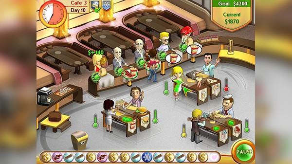Screenshot from Amelie's Café (3/5)