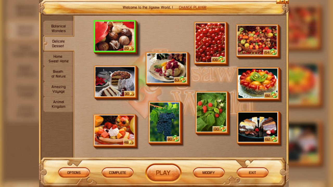 Screenshot from Jigsaw World (2/5)
