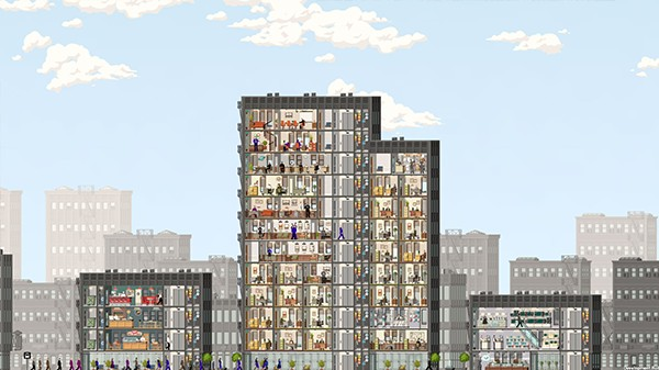 Screenshot from Project Highrise (1/6)