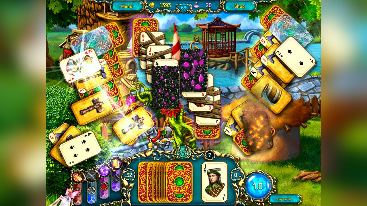 Screenshot from Dreamland Solitaire: Dragon's Fury (5/8)
