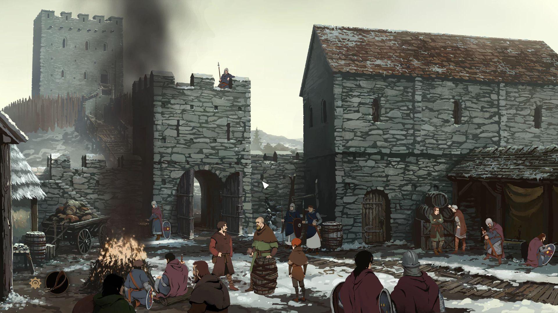 Screenshot from Ken Follett's The Pillars of the Earth (3/10)