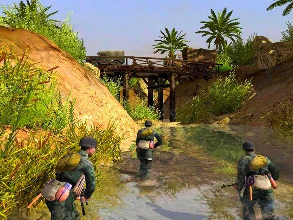 Screenshot from Men of War (2/3)