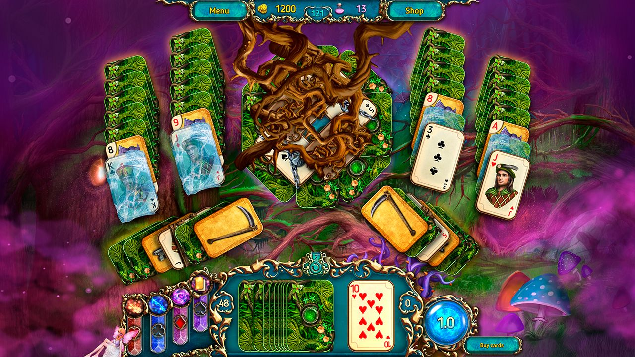 Screenshot from Dreamland Solitaire: Dark Prophecy Collector's Edition (2/8)
