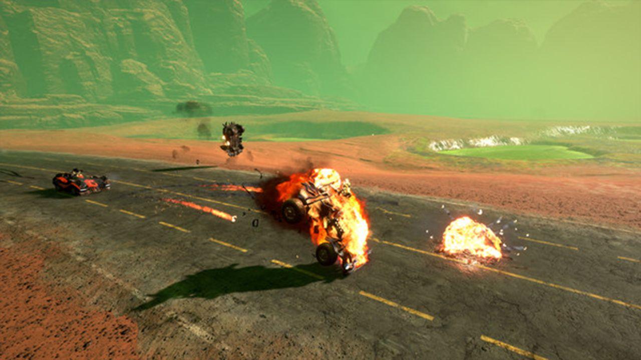 Screenshot from Dark Future: Blood Red States (3/8)
